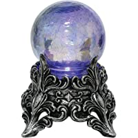 Seasons Mystic Crystal Ball Decoration, Purple, One Size
