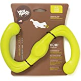 West Paw Zogoflex Bumi Interactive Tug of War Durable Dog Play Toy, 100% Guaranteed Tough, It Floats!, Made in USA, for Medium Chewers