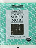 Sound Sea Vegetables Organic Toasted Sushi Nori, 7 Sheets, 0.55 Ounce
