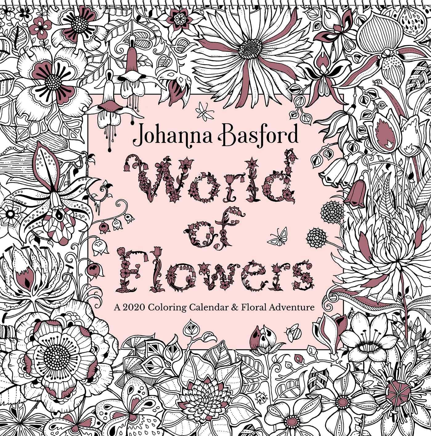 Johanna Basford 2020 Coloring Wall Calendar: Amazon.de ...
