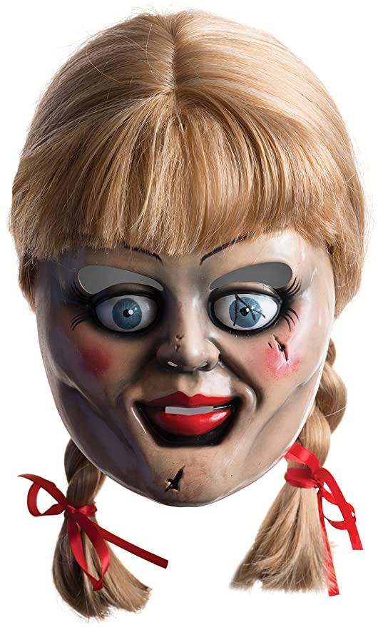 Amazon.com  Annabelle Mask with Wig  Toys   Games c11b5895d3