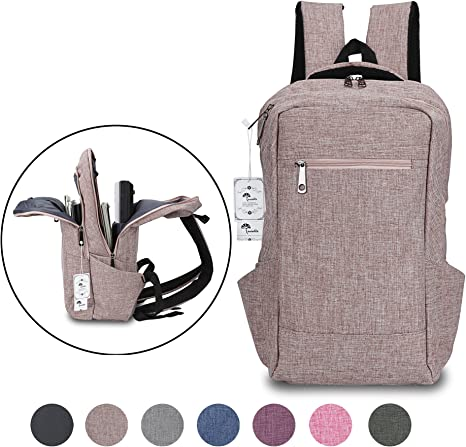 Men and Women Casual Fashion Creative Personalized Cute Small Bag 14 Inch Notebook Backpack Ultra-Thin 15.6 Inch Laptop Bag