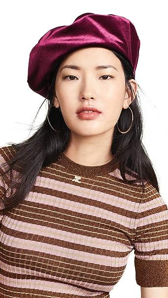 Amazon.com  Brixton Women s Audrey Beret Hat f0edcfc6ca8