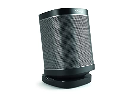 Vogel S Speaker Table Top Stand For Sonos Play Sound 4113 B Mount For Sonos One Play 1 3 Black Single Stand