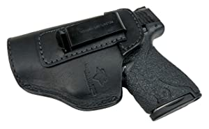 Relentless Tactical The Defender Leather IWB Holster for S&W M&P Shield