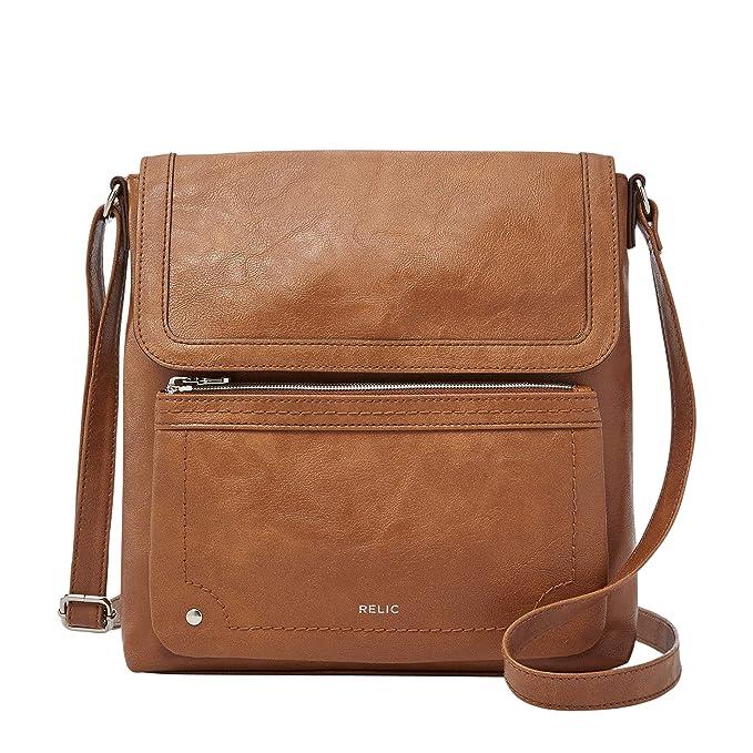 b1ec8947823 Relic by Fossil Women's Evie Flap Crossbody Handbag Purse