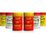 Slap Ya Mama Mixed Seasoning 6 Pack Variety Pack, 2 Cajun, 2 Cajun Hot, 2 White Pepper Blend, 8oz Each