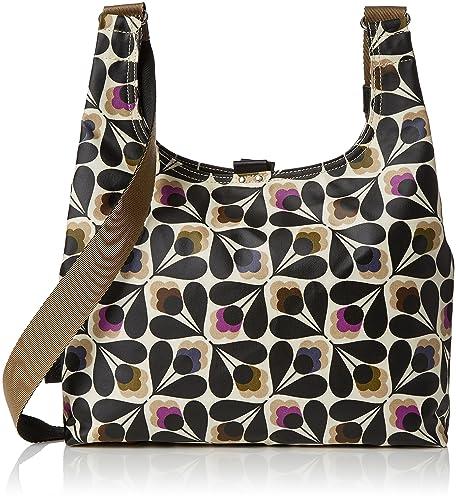 c283dab5ff Orla Kiely Women s Matt Laminated Sycamore Seed Print Midi Sling Bag  Shoulder Handbag