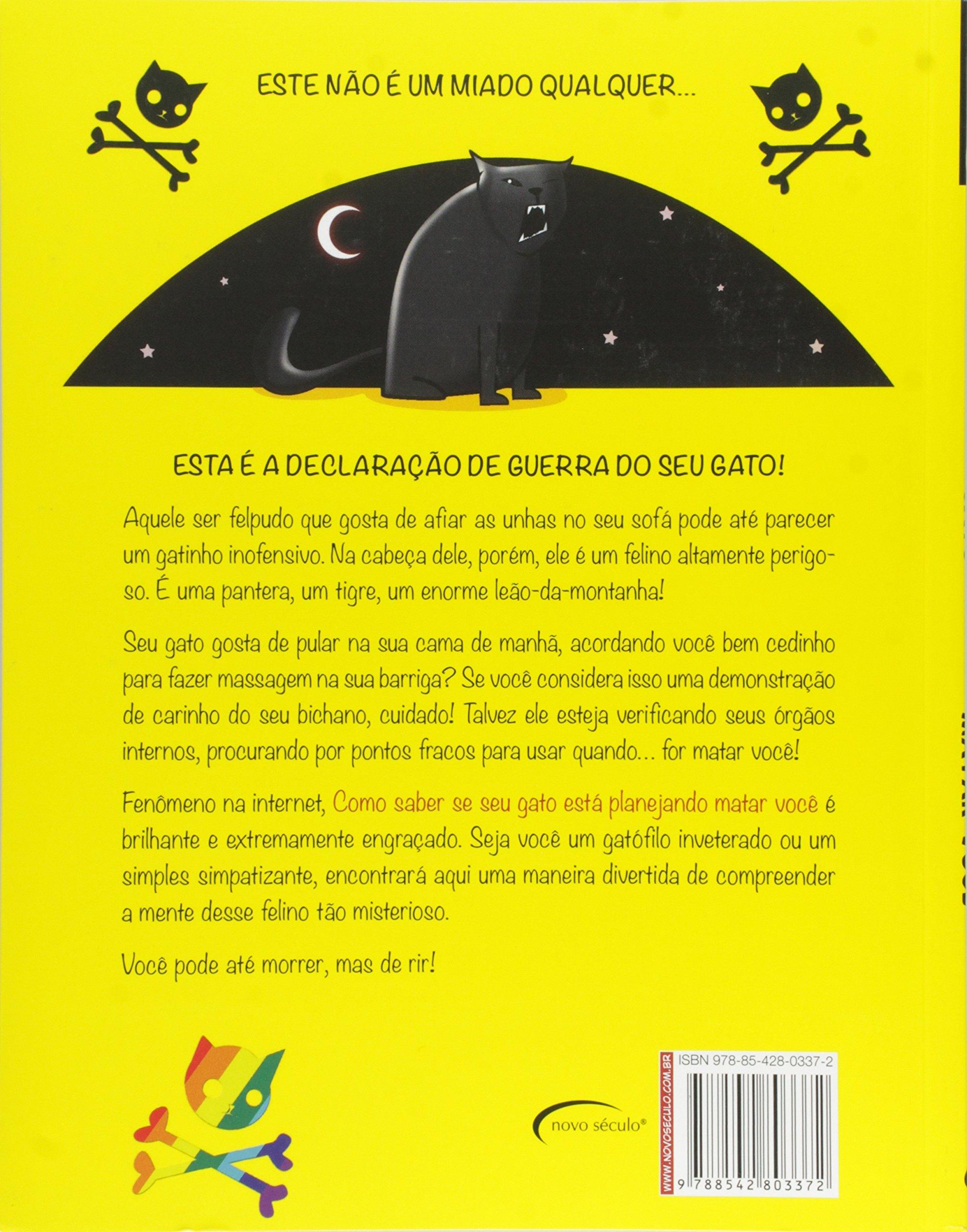 Como Saber Se Seu Gato Está Planejando Matar Você (Em Portuguese do Brasil): Vários Autores: 9788542803372: Amazon.com: Books