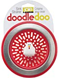 Harold Import Company Joie Kitchen Sink Strainer Basket Rooster 4.5-Inch Red