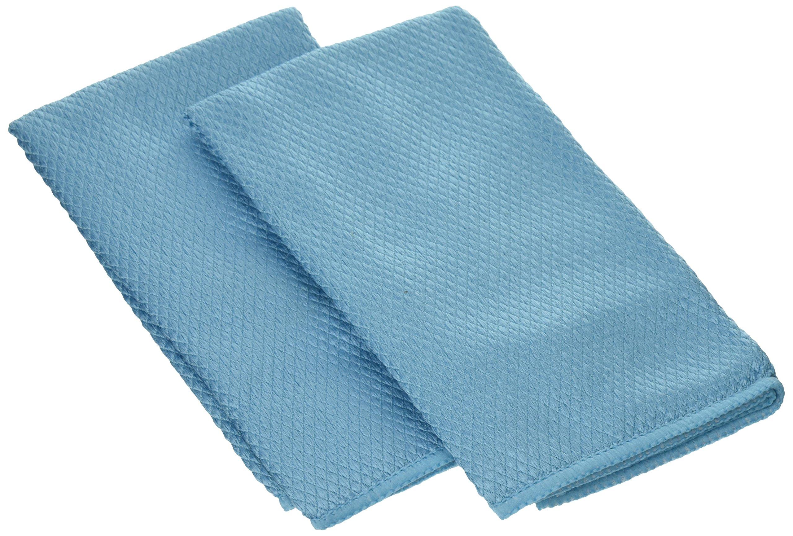 Amazon.com   Wine Enthusiast Microfiber Wine Glass Towels, Blue, Set ...