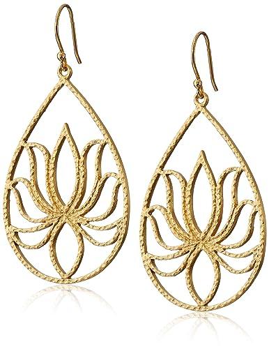 Satya Jewelry Lotus earrings hgTfHBiwbL