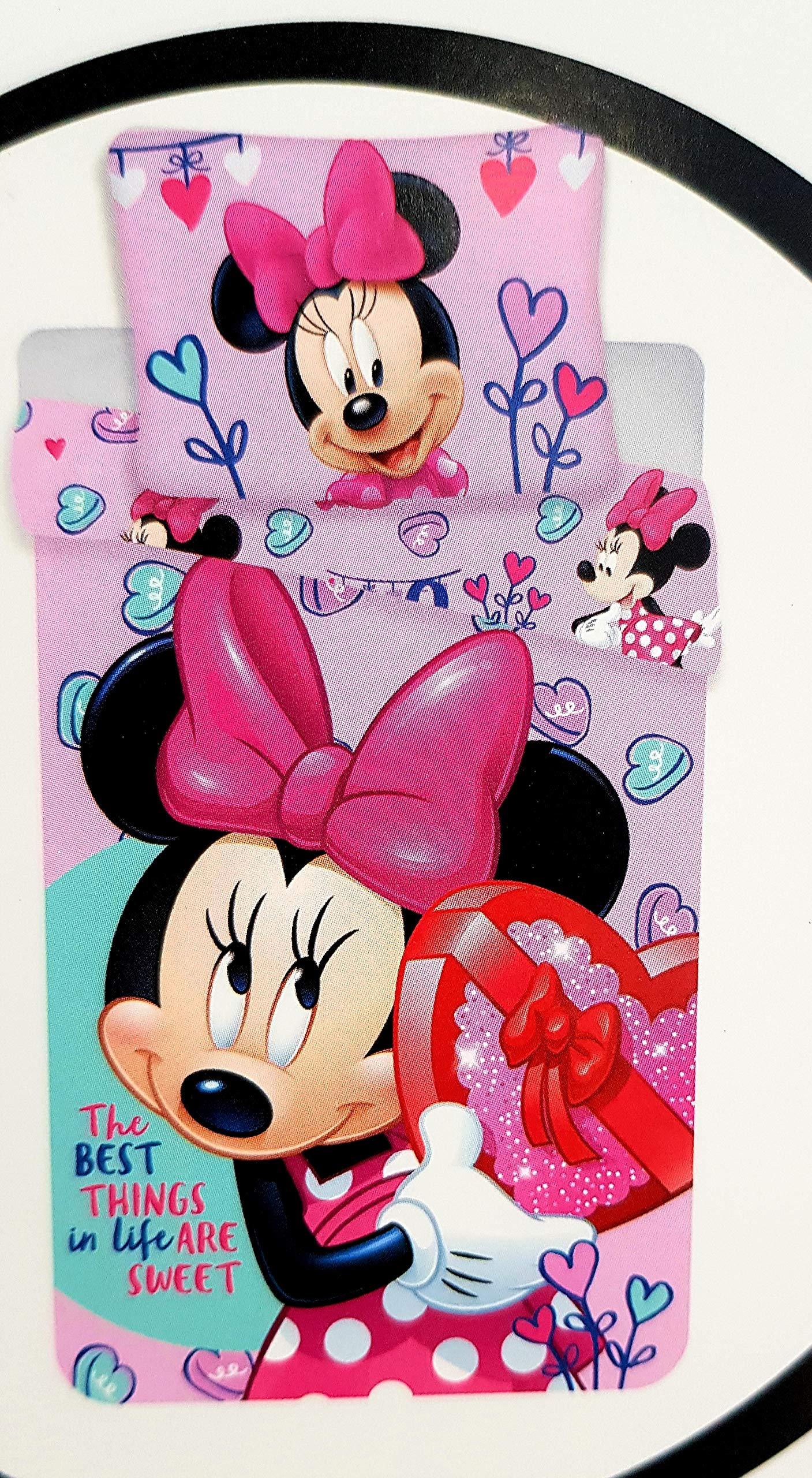 Disney Minnie Mouse Baby Bedding Set 100/135 + 40/60 cm