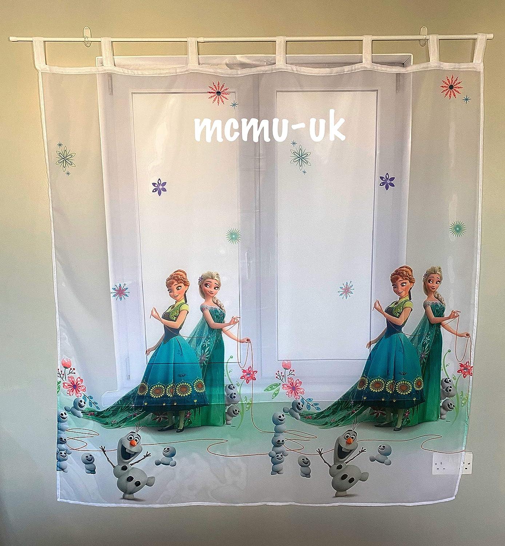 Polontex Disney Gardinen Die Eisk/önigin Frozen DA05-75 cm Breite x 150 cm Lange Kinderzimmer Vorhang
