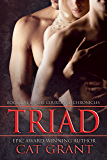Triad: Menage, m/m/f, billionaire, CEO, politician, HEA, baby (Courtland Chronicles series Book 5) (English Edition)