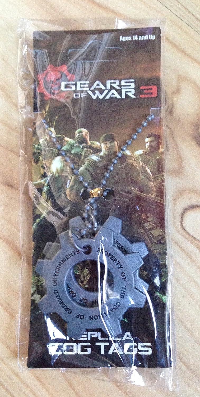 Gears of War Cog Tags Collar: Amazon.es: Juguetes y juegos