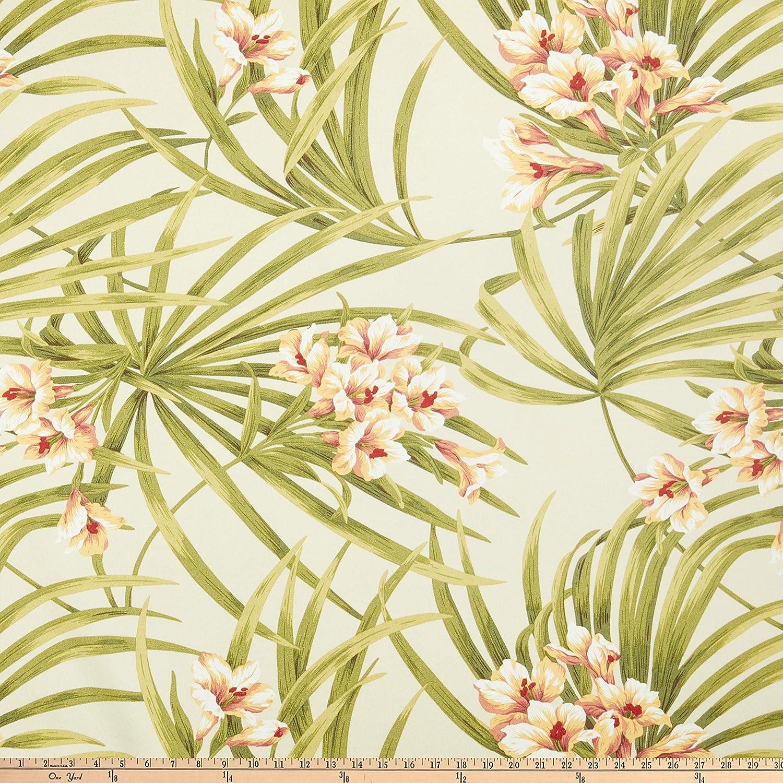 Magnolia Home Fashions Indoor/Outdoor Sea Island Garden Fabric by the Yard