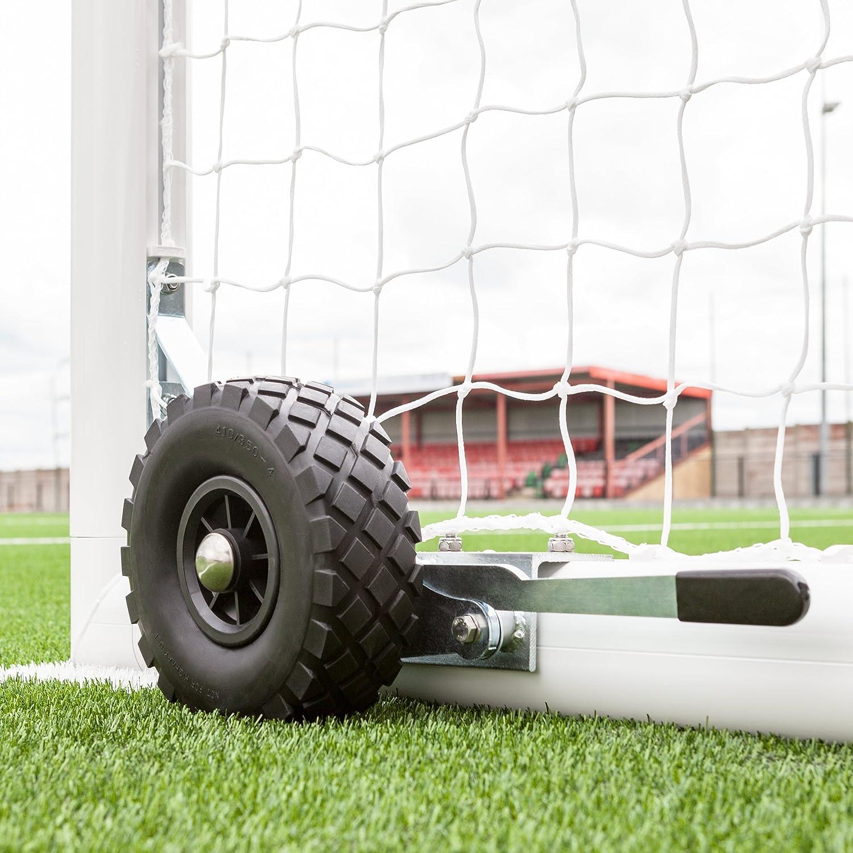 交換用ポータブルサッカーゴールホイール&ブラケット[ Net世界スポーツ] Set of 2 Wheels & Brackets  B06XKYY38H