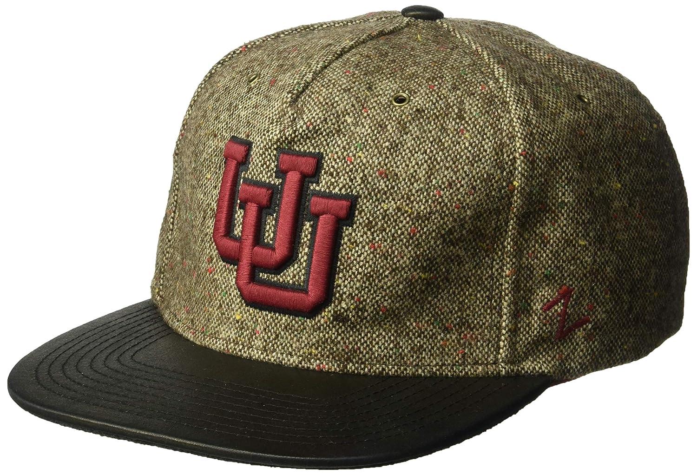 Tweed Adjustable NCAA Zephyr Utah Utes Mens Legend Heritage Collection Hat