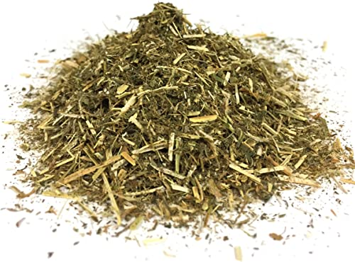 Best Botanicals Organic Alfalfa Leaf Cut Alfalfa Tea, Natural Leaf Great for Organic Tea and Cleanses Rich in Iron and Vitamin D 4 oz