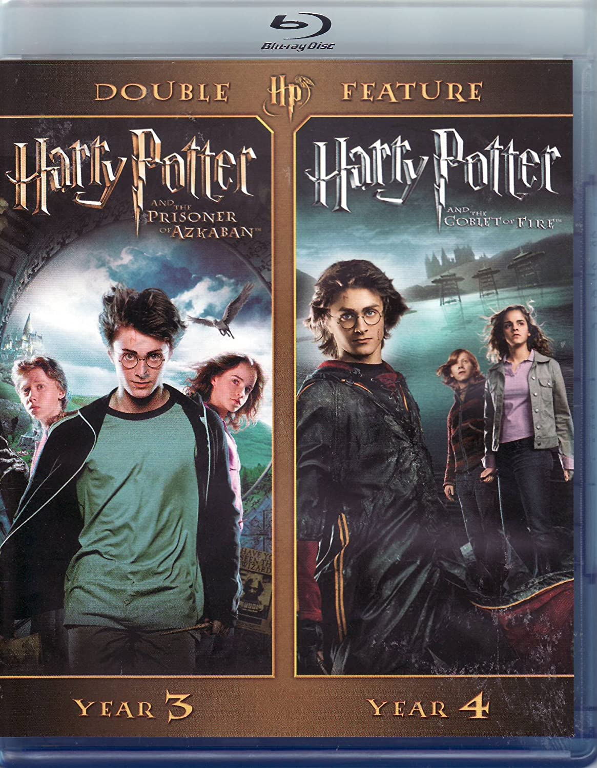 Harry Potter Blu-Ray Double Feature Harry Potter and the Prisoner of Azkaban and Harry Potter and the Goblet of Fire: Amazon.es: Cine y Series TV