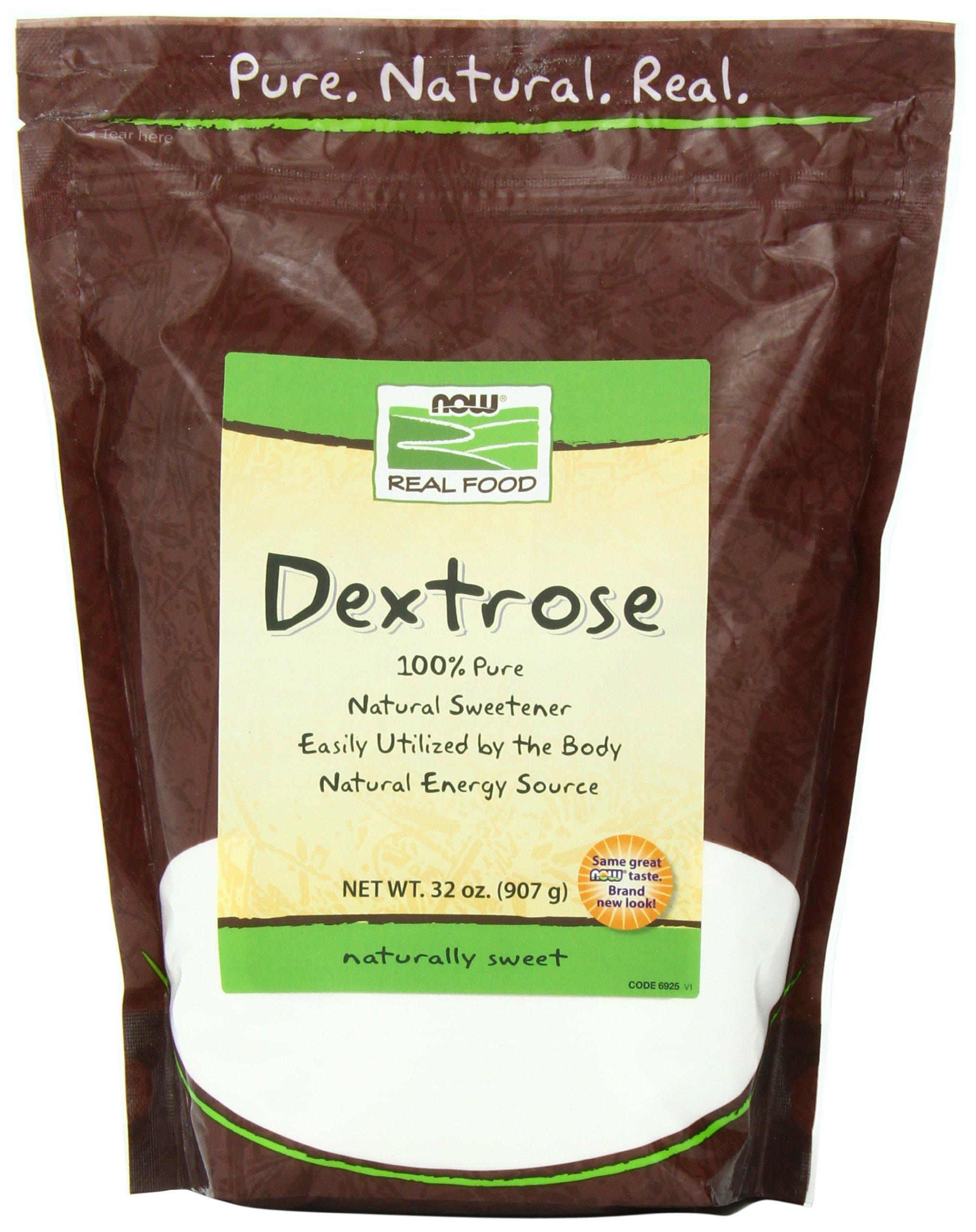 NOW Dextrose, 32-Ounce