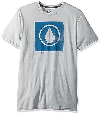 1c8dd2b45718 Volcom Men's Chop Stone Short Sleeve Tee: Amazon.in: Clothing & Accessories