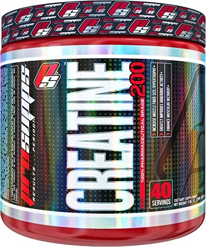 ProSupps Creatine 200, 100 Pharmaceutical Grade Creatine Monohydrate, 40 servings, 7.05 Ounce