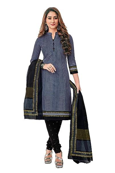 Miraan Women's Cotton Unstitched Salwar Suit  SG1205  Dress Material