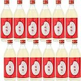 純米甘酒 糀麹 コシヒカリと糀(麹)のみ 大人の贅沢甘酒 甘さ控えめ (500ml×12本(1箱))