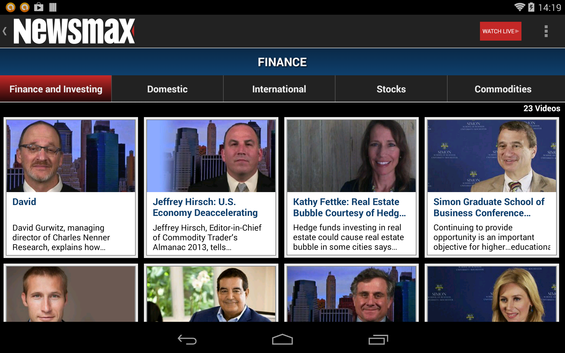 Amazon.com: Newsmax TV & Web: Appstore for Android