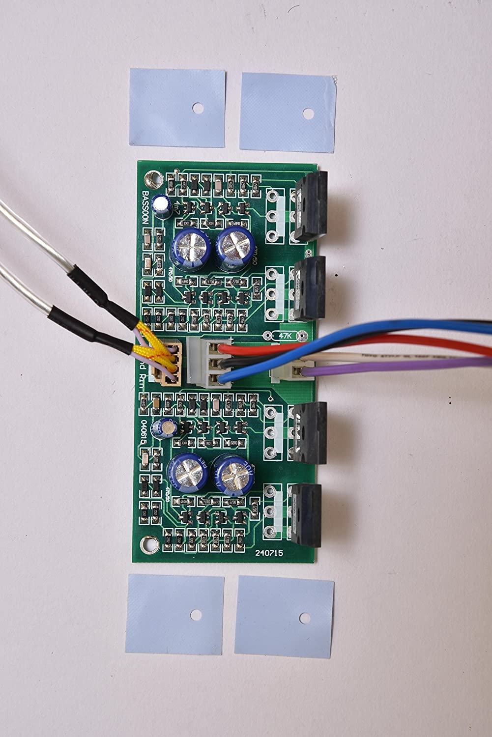 Bassoon Mosfet Stereo Amplifier Electronics Circuit Audio 2channel Subwoofer Board