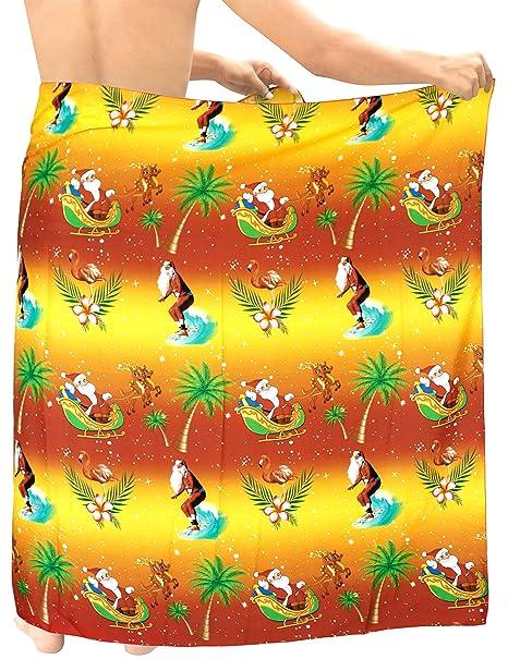 119e46548b HAPPY BAY 3D HD Mens Hawaiian Sarong Bathing Towel Beachwear 78