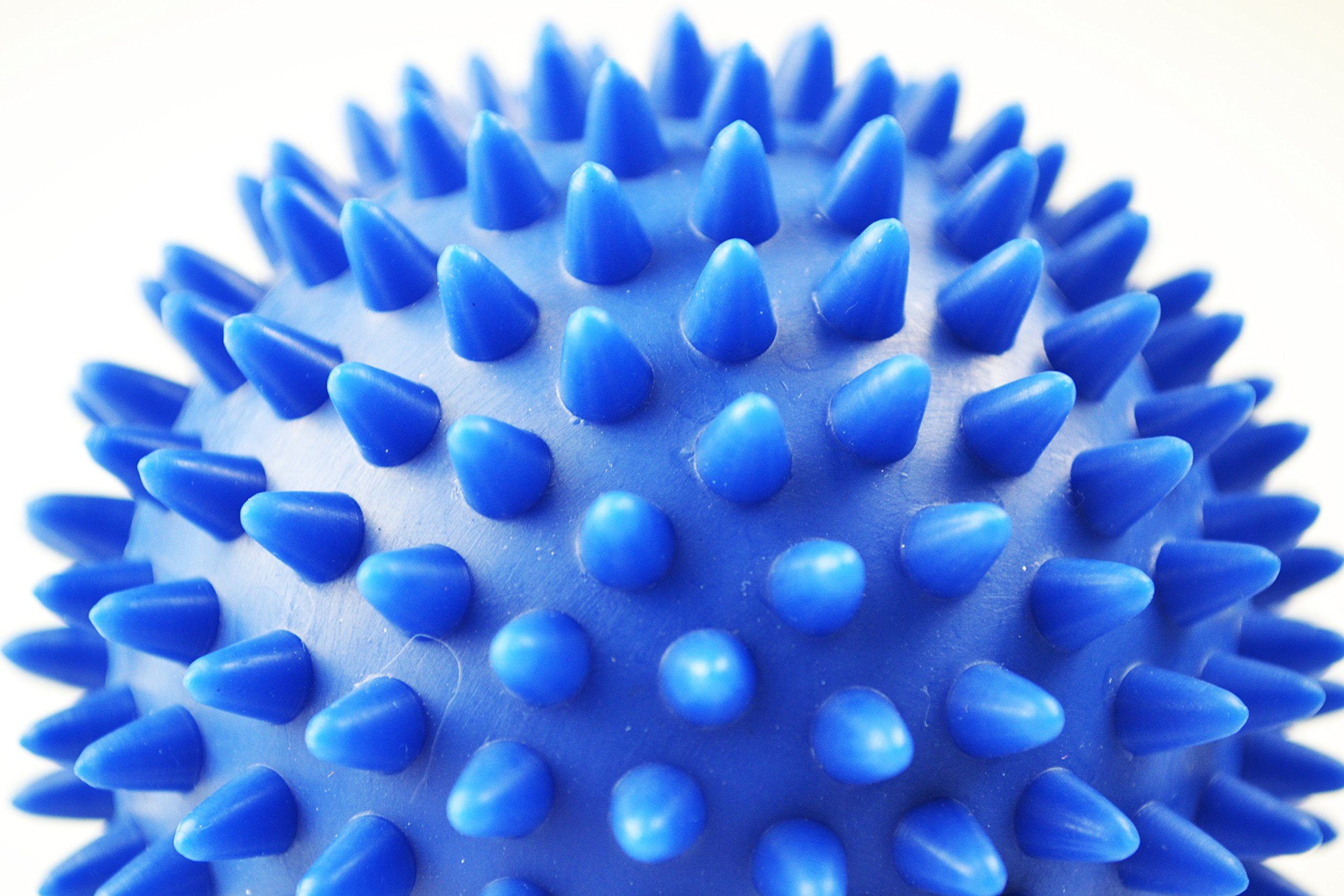 Micogo 9cm High Density Spiky Massage Ball for Tension Relief and Muscle Release , pack of 2