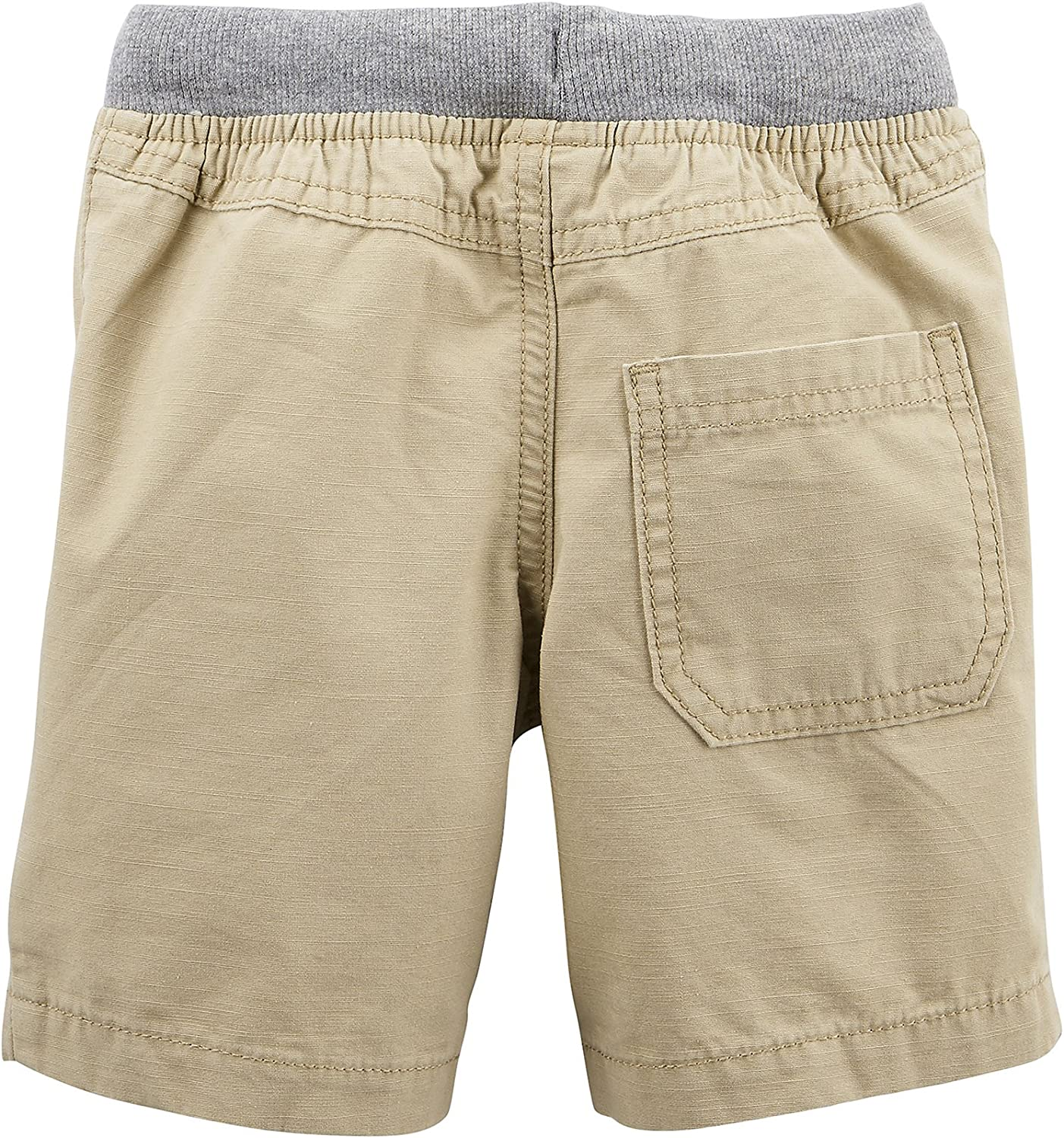 Carters Baby Boys Easy Pull-On Dock Shorts Khaki 9 Months