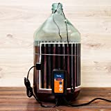 Kenley Fermentation Carboy Heater with Thermostat - Kombucha Heating Kit - Home Brewing Heat Strip Belt Wrap Mat Brew Warmer Warming Pad with Temperature Controller - Works with any Vessel up to 8 Gal
