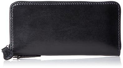 093b3db2a654 Amazon | [ノマドイ] アラバマ ラウンドファスナー長財布シングル NAMW2AT1 ブラック | NOMADOI(ノマドイ) | 財布