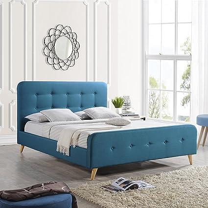 Amazon.com: Great Deal Furniture | Baron | Mid Century Queen ...