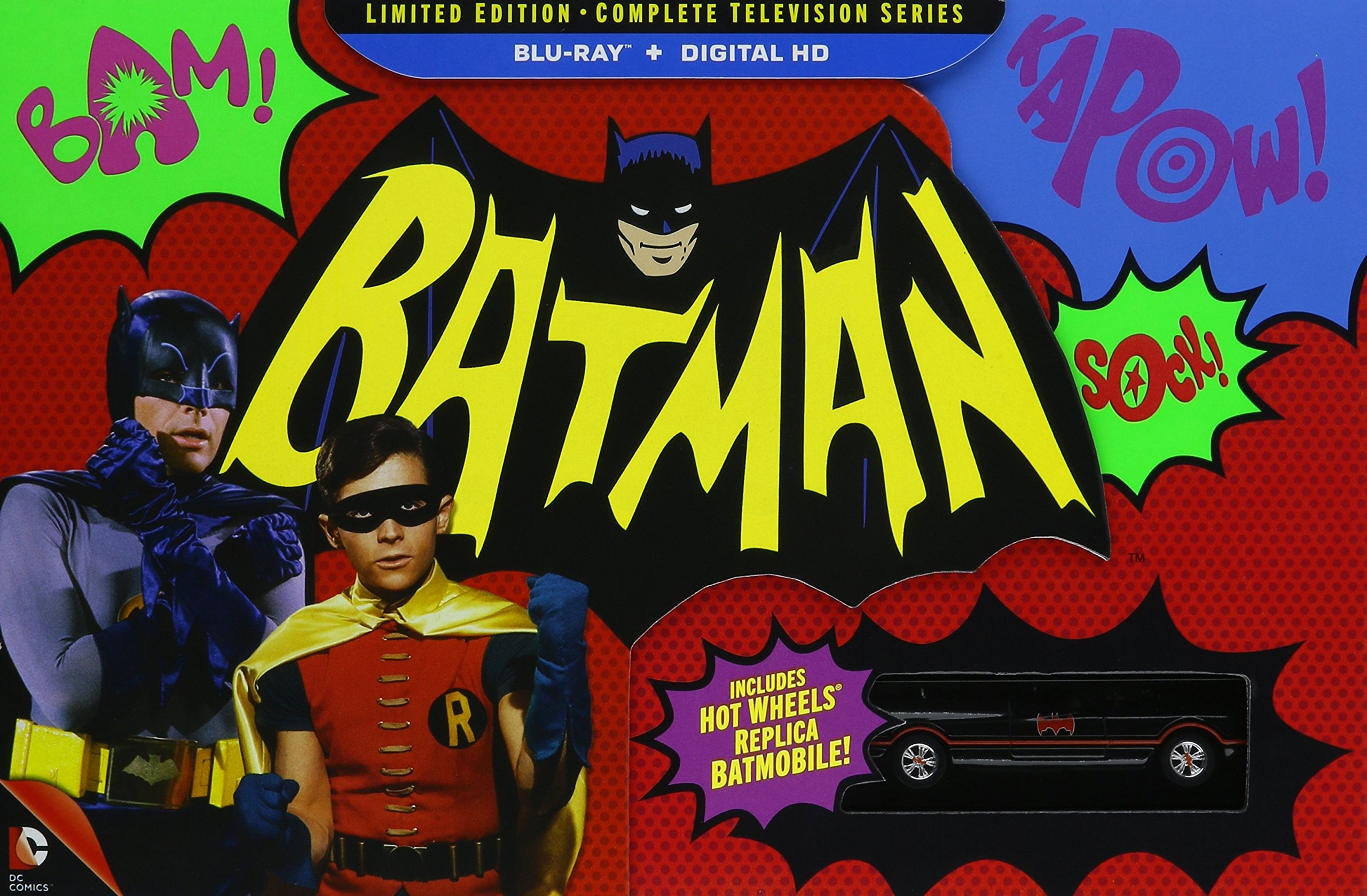 Batman: The Complete Television Series (Limited Edition) [Blu-ray] by Warner Manufacturing