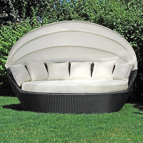 Sonneninsel günstig  Amazon.de: JOM Sonneninsel, Polyrattan Garten Lounge, Chill-Out ...