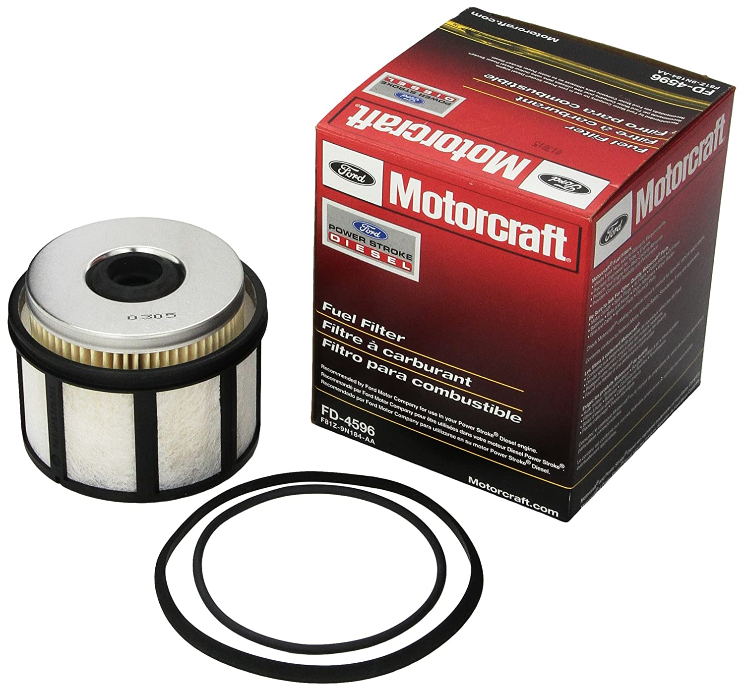 3. Motorcraft FD4596 Fuel Filter