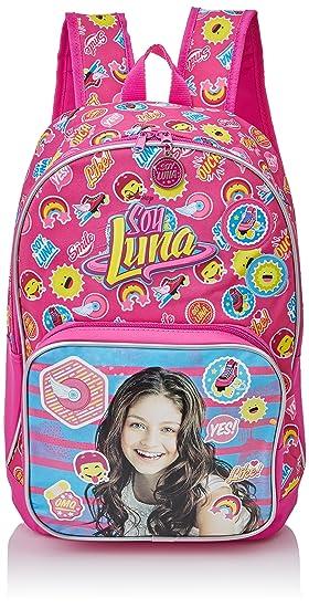 Disney 3392351 Yo Soy Luna Mochila Escolar, 16.93 litros, Color Rosa: Amazon.es: Equipaje
