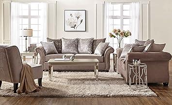 Superb Amazon Com Amia Sofa Loveseat Set Traditional Classic Ncnpc Chair Design For Home Ncnpcorg