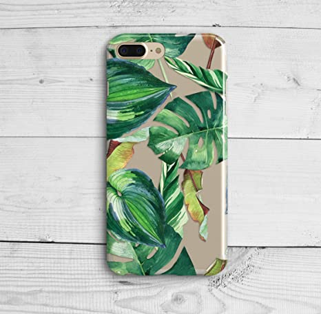 coque iphone 8 silicone palmier