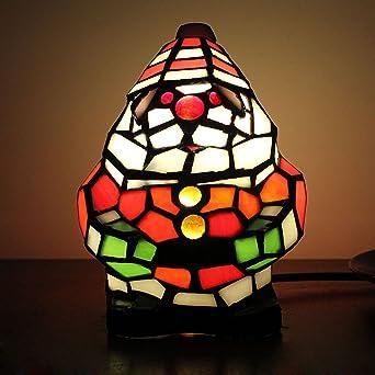 de Santa Claus lámpara de mesa de los niños de luz de la lámpara ...