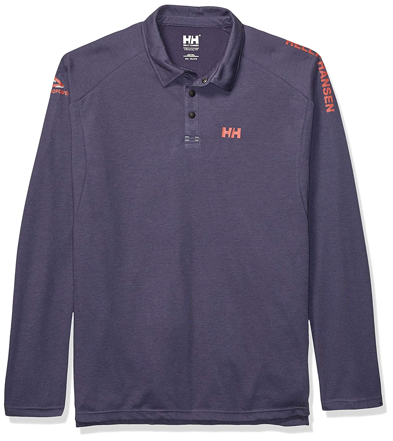 Helly Hansen HP Shore LS Rugger Polo Técnica Manga Larga, Hombre ...