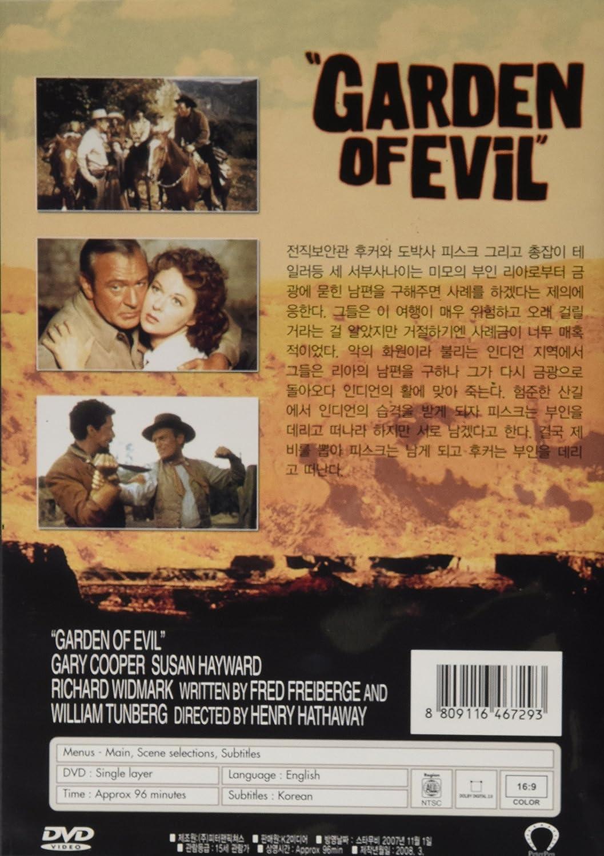 Amazon.com: Garden of Evil (NTSC All Region Import): Henry Hathaway ...