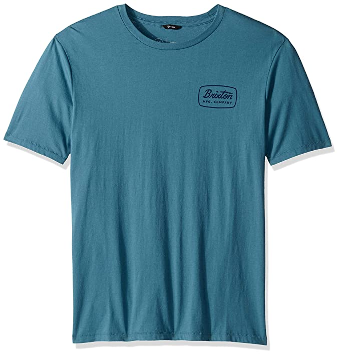 bf4f8b3adf9 Brixton Mens Jolt S/S Premium Tee T-Shirt: Amazon.ca: Clothing ...