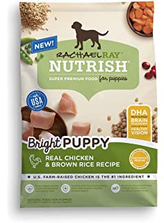 rachael ray nutrish bright puppy natural dry dog food real chicken u0026 brown rice recipe
