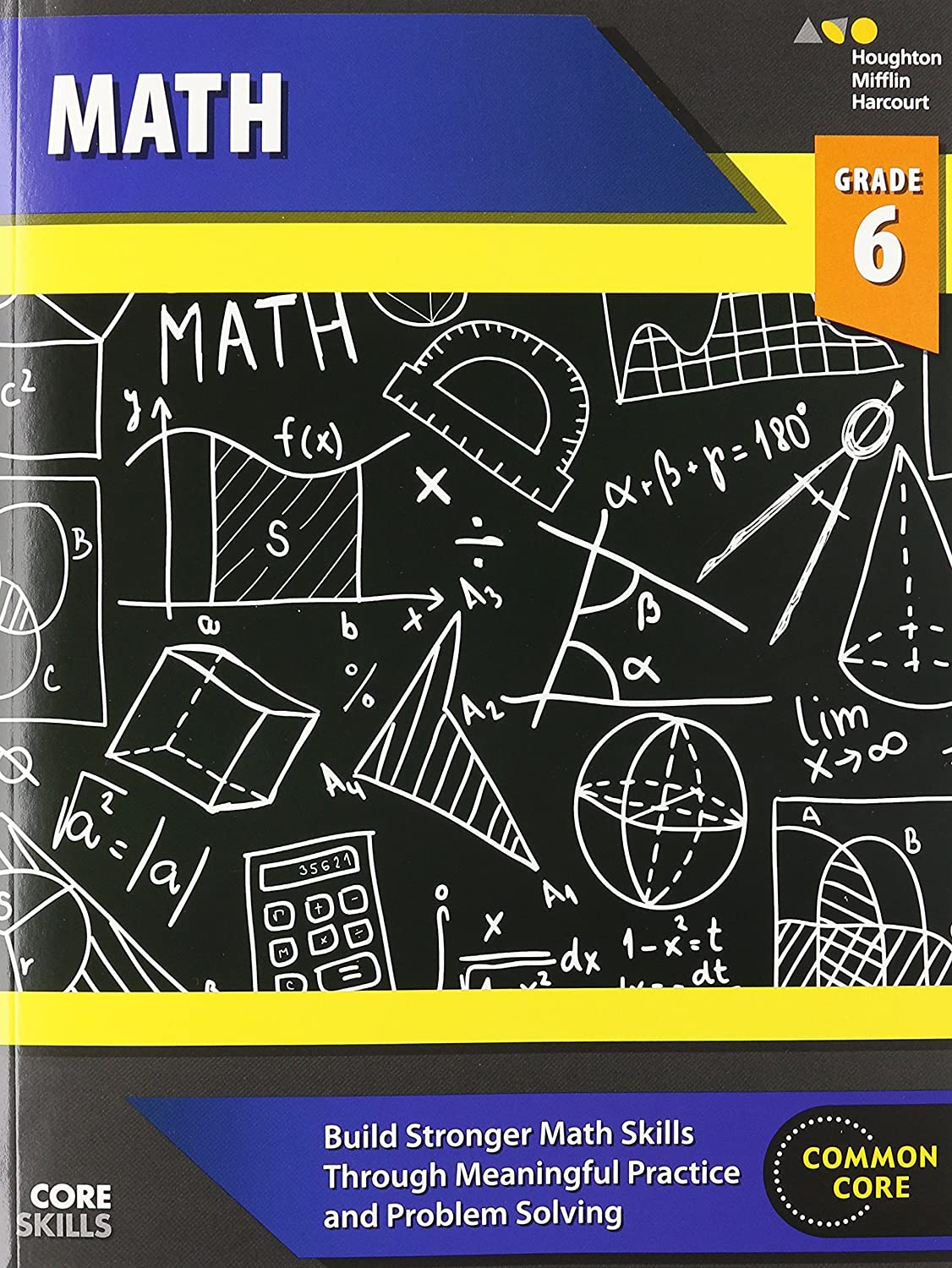 Worksheets Houghton Mifflin Math Worksheets steck vaughn core skills mathematics workbook grade 6 9780544268241 amazon com books
